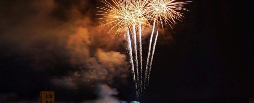 Comune di Arezzo: non mancheranno i consueti fuochi d'artificio per San Donato!