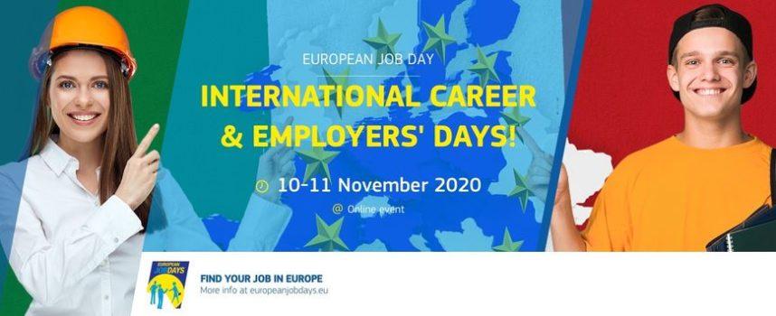 Eures Italia presenta: International Career and employers days