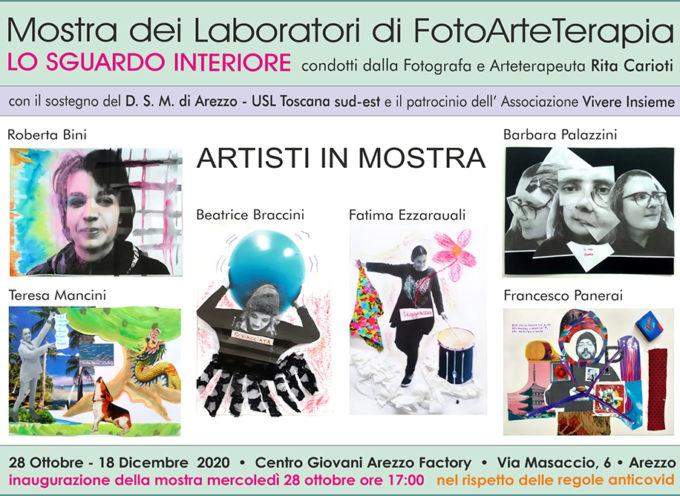 """Ad Arezzo Factory dal 28 ottobre """"Lo Sguardo Interiore"""" – Mostra dei Laboratori di FotoArteTerapia"""