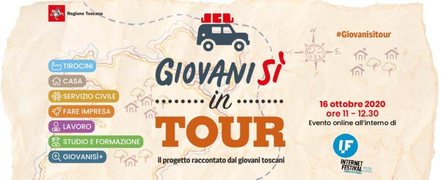 16/10 Giovanisì in tour: il progetto raccontato dai giovani anche online!