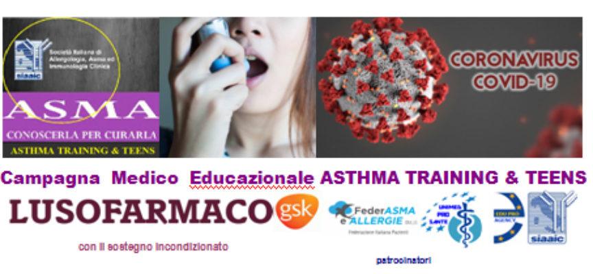 Giovani e Asma: nuova edizione della campagna Asthma Training & Teens