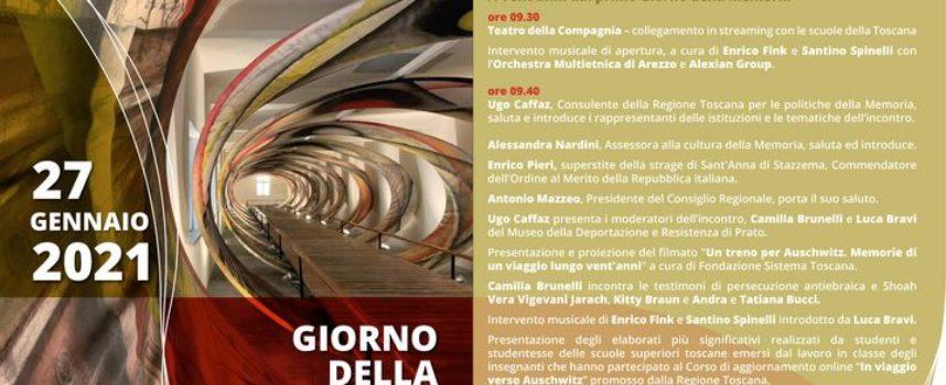 Giorno della Memoria, un treno 'virtuale' porterà il 27 gennaio i giovani toscani ad Auschwitz