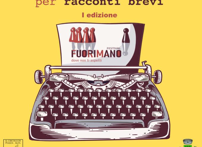 Concorso per racconti brevi: Premio FuoriMano 2021 – Comune di Sarnano
