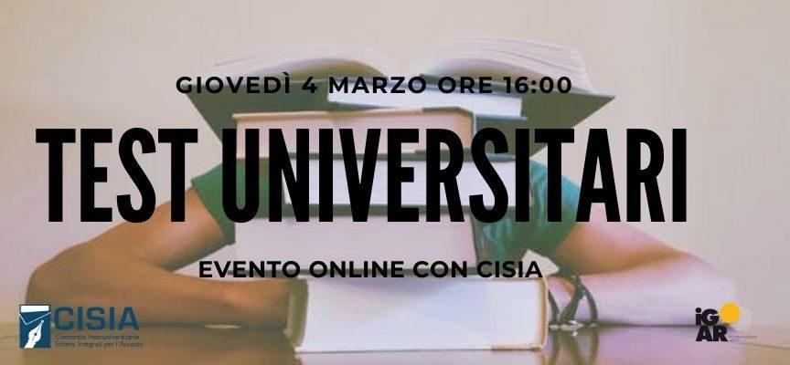 Test d'ingresso universitari TOLC: partecipa il 4 marzo al nostro Info Day online!!