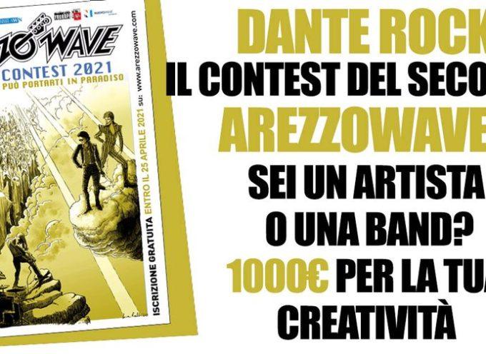 Arezzo Wave Music Contest 2021 nel segno di Dante