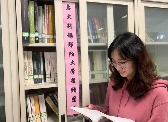 La Biblioteca dell'Università cinese di Wenzhou si arricchisce di una sezione di Italiano