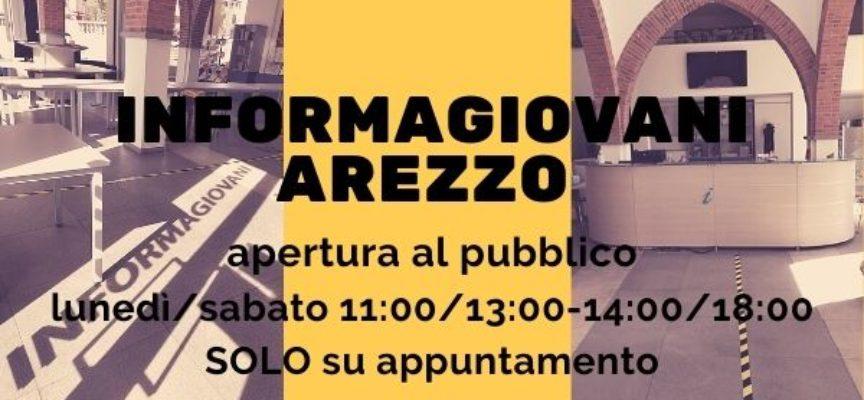 Informagiovani Arezzo: da martedì 6 aprile aperto al pubblico SOLO su appuntamento