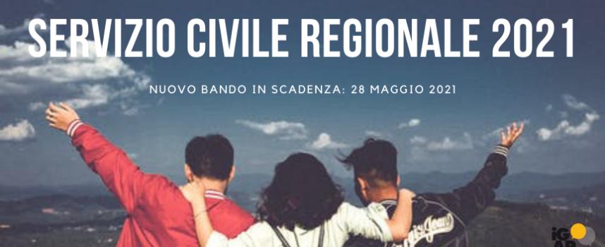 Servizio Civile Regionale 2021: ecco il nuovo bando ordinario in scadenza al 28 maggio 2021!!