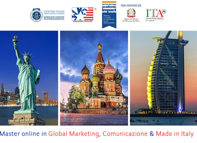 Nuove Borse di studio speciali Covid-19 per il Master in Global Marketing, Comunicazione e Made in Italy