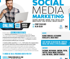 Corso in Social Media Marketing