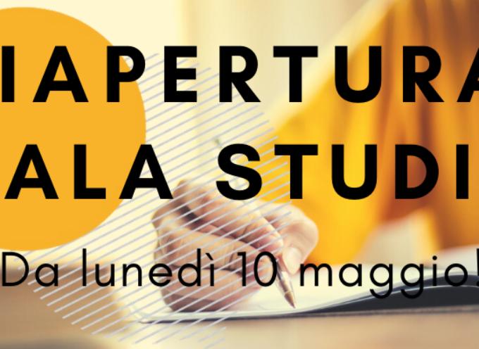 Informagiovani Arezzo: riapertura sala studio da lunedì 10 maggio!