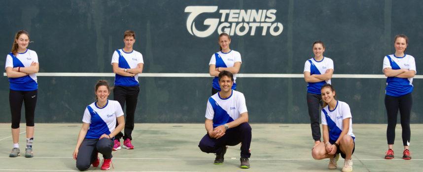 Le ragazze del Tennis Giotto alla finale nazionale dei Play Off per la B2