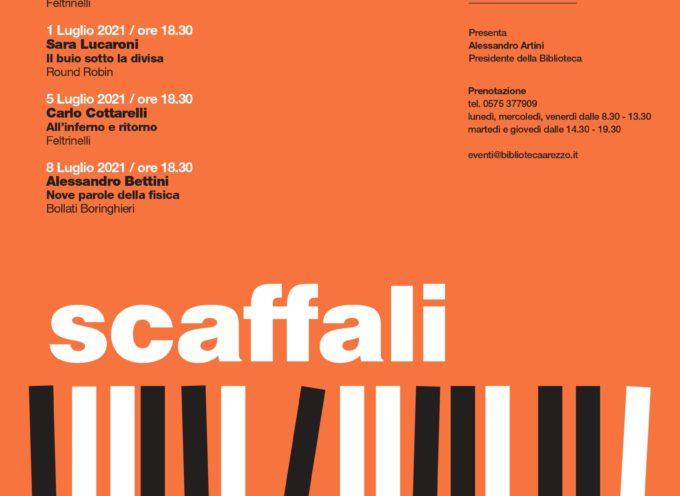 """Biblioteca Città di Arezzo, in collaborazione con la libreria Feltrinelli Point, organizza il festival """"Scaffali"""""""