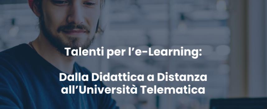 Talenti per l'e-Learning, la prima borsa di studio italiana dedicata alla Didattica a Distanza