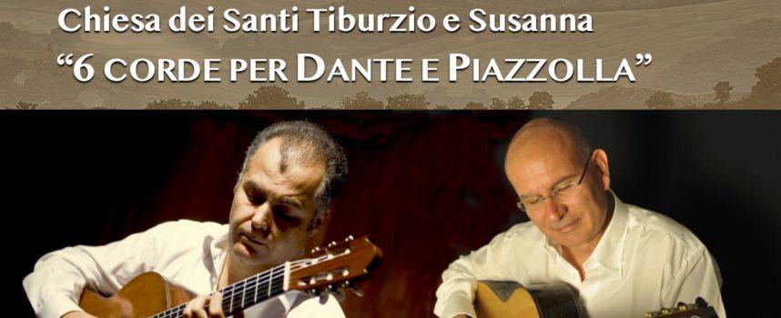 IL DUO ALBIANI-RULLO IN CONCERTO AL VI° FESTIVAL INTERNAZIONALE IL ROSETO DELLA MUSICA 2021 A SAN PANCRAZIO, VALDAMBRA – TOSCANA.