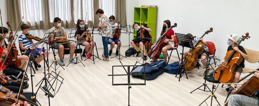17 luglio concerto in Basilica degli allievi junior di Oida Campus