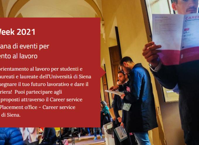 Università di Siena: Torna in presenza la Career Week 11-14 Ottobre
