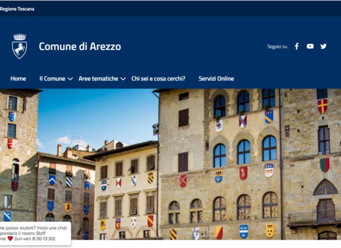 Comune di Arezzo: il sito si evolve e diventa totalmente accessibile